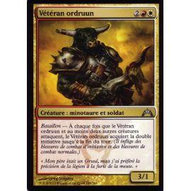 Carte Magic The Gathering Veteran Ordruun X4 Insurrection Vf Rakuten