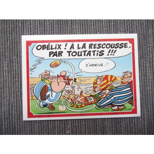 60 ans ASTERIX-Sticker 111 PANINI