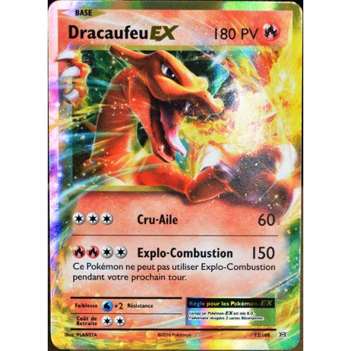 Carte Pokémon 12108 Dracaufeu Ex 180 Pv Xy Evolutions Neuf Fr