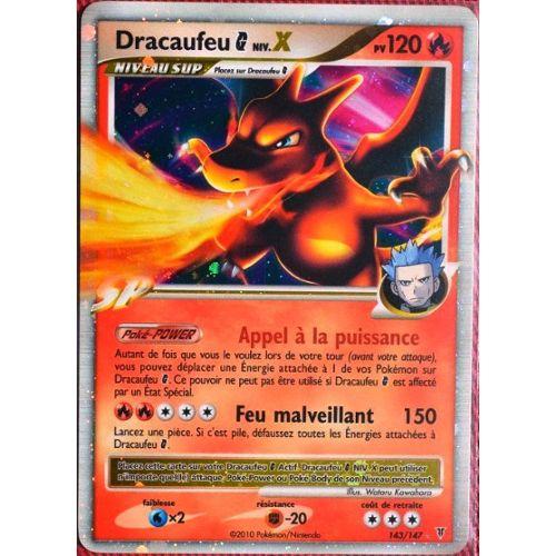 Carte Pokémon 143147 Dracaufeu Galaxie Nivx 120 Pv Série Platine Vs Neuf Fr