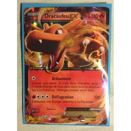 Carte Pokemon Dracaufeu Ex 180 Pv 11106 Xy Etincelles Vf