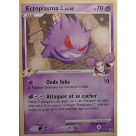 Pokémon n° 40//111 PV70 Ectoplasma niveau 65 8455