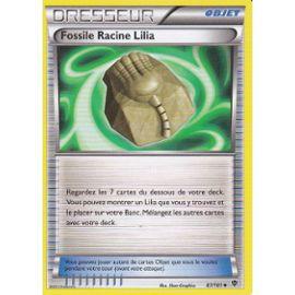 Fossile Racine Lilia N/&B:Explosion Plasma-87//101-Carte Pokemon Neuve Française