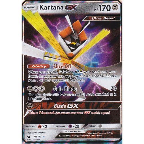 Gry karciane Pokémon Kolekcje Cartes Pokémon Katagami GX 70/111ULTRA RARE Invasion Carmin SL4 NEUF