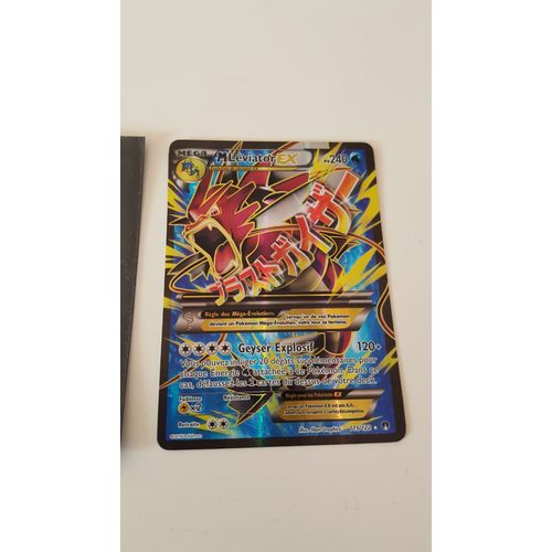 Carte Pokemon Mega Leviator Ex Full Art Shiny Rakuten