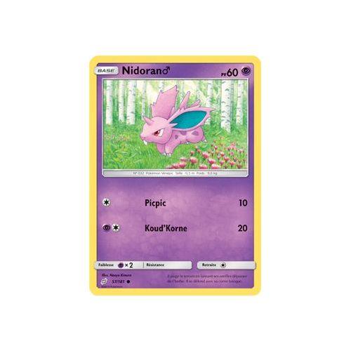 Carte Pokemon ESCARGAUME 8//111 REVERSE Soleil et Lune 4 SL4 FR NEUF