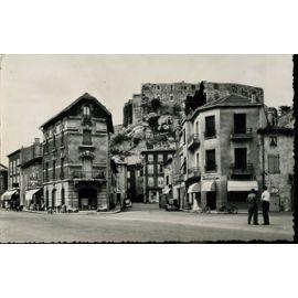 Carte Postale De La Voulte Sur Rhône Ardèche Le Carrefour Et Le Château