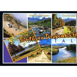 Carte Postale Afrique Du Sud.Carte Postale De Natal Afrique Du Sud Southern Drakensberg 6 Vues