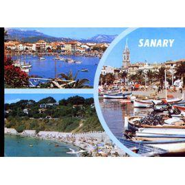 Carte Postale De Sanary Sur Mer Var 3 Vues Rakuten