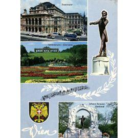 Carte Postale De Vienne Autriche 3 Vues Rakuten