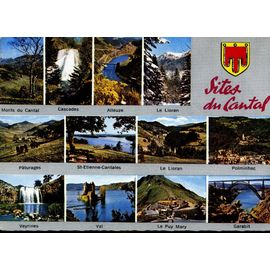 CARTE POSTALE des Sites du Cantal - 12 vues | Rakuten