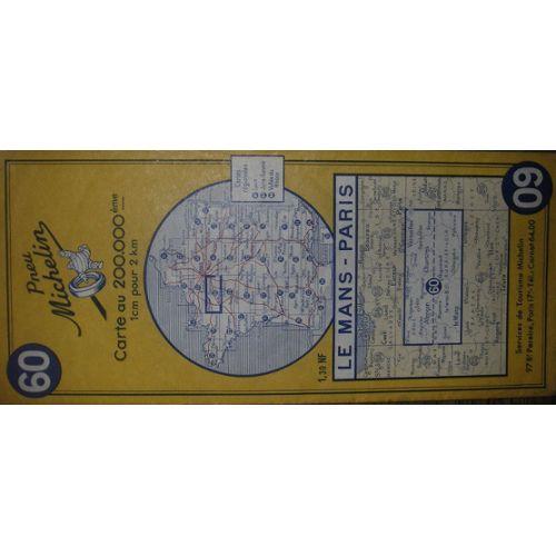 Carte routière Michelin N° 60 | Rakuten