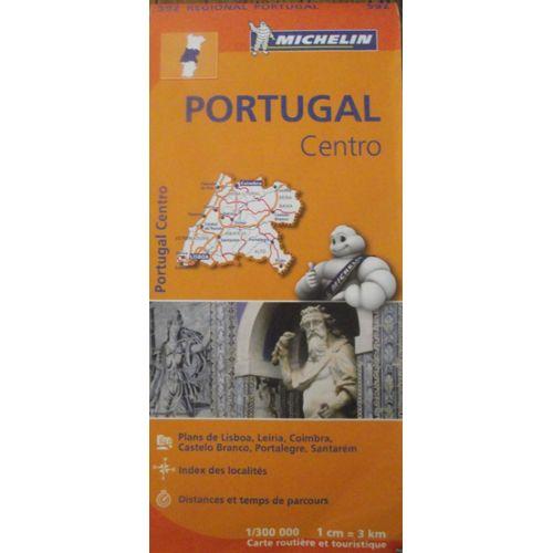 Carte routière Michelin Portugal centro | Rakuten