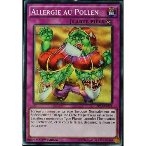 Carte YU-GI-OH BP03-FR211 Allergie Au Pollen NEUF FR   Rakuten