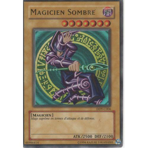 Carte Yu Gi Oh Rare Prix.Carte Yu Gi Oh Magicien Sombre Ultra Rare Ddy C006