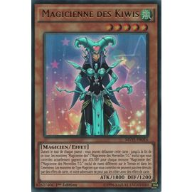 Carte YU GI OH MAGICIENNE DES KIWIS MVP1-FR016