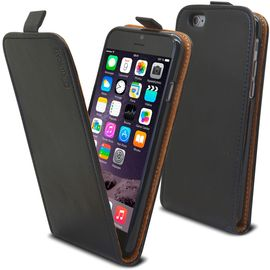 caseink coque housse etui a rabat premium iphone 6 iphone 6s 4 7 cuir vachette italien veritable fabrication europe noir 1047155333 ML