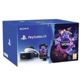 Casque VR Sony PlayStation VR MK3 (PSVR MK3) + PlayStation Caméra v2 + VR Worlds