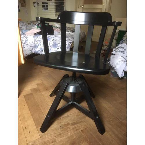 IKEA en Chaise de bureau boismodèle FEODORcouleur noire srdtQChx