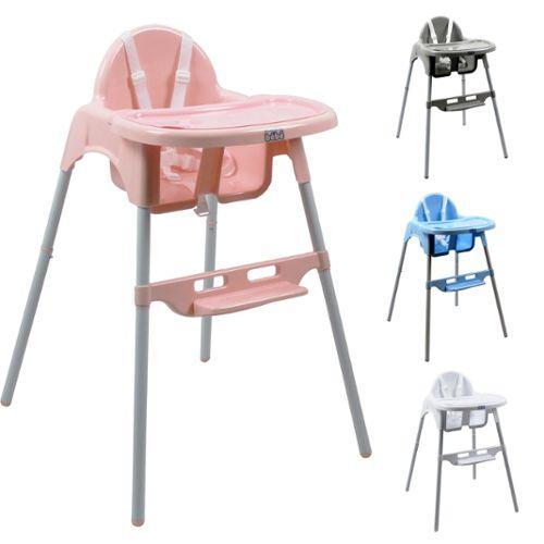 chaise haute b b r glable hauteur et tablette d lice. Black Bedroom Furniture Sets. Home Design Ideas