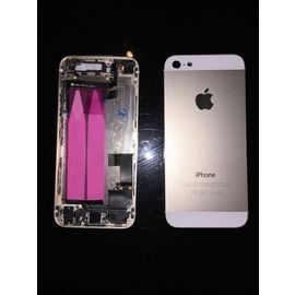 chassis coque arriere complet premonte iphone 5s gold champagne tiroir boutons 1015030214 ML