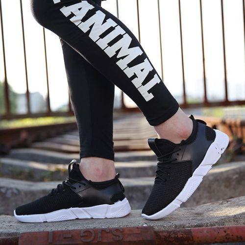Homme Automne Bout Rond Plates Sneaker Conduite Sport Randonnée Chaussures Confortable Chic
