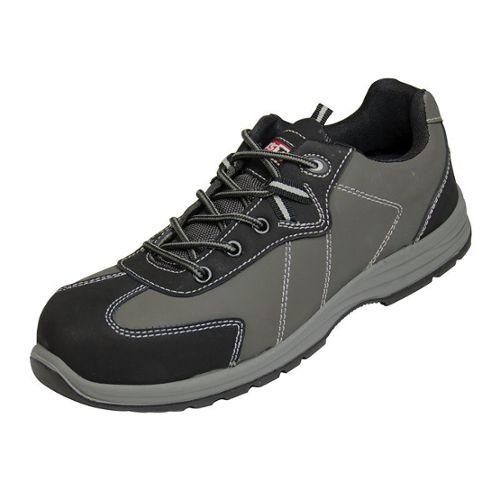 Delta Plus Jet 2 S1P Cuir Noir Homme Steel Toe Cap Chaussures De Sécurité Travail Chaussures
