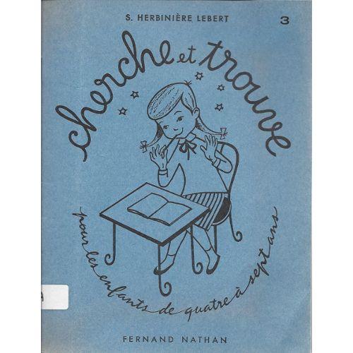 Cherche Et Trouve Cahier 6 Exercices Sensoriels Preparatoires A La Lecture