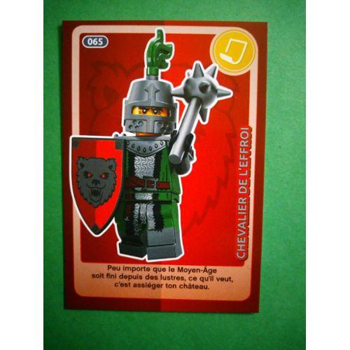Carte Ninjago Auchan.Chevalier De L Effroi 65 Carte Lego Auchan Cree Ton Monde 2018