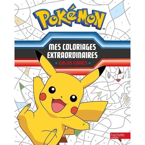 Pokemon Mes Coloriages Extraordinaires Colos Codes Rakuten
