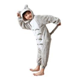 2019 meilleures ventes nouvelle collection 100% d'origine Combinaison Grenouillère Kigurumi Enfant 3-10 ans. Pikachu Stitch Panda  Licorne Rose Totoro. Black Sugar Boutique Cosplay Déguisement