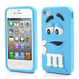 coque 3d iphone 5s g cover case m m s silicone bleue 1010711039 ML