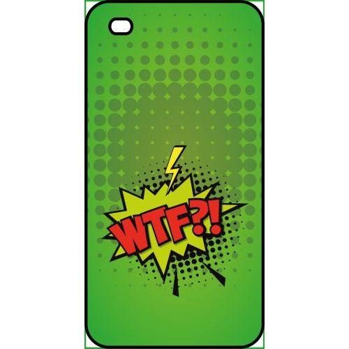 coque apple iphone 4 wtf fond vert 1140652953 L