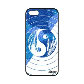 coque apple iphone 5 5s se silicone yin et yang smartphone bumper rond bulle art 1141101691 ML