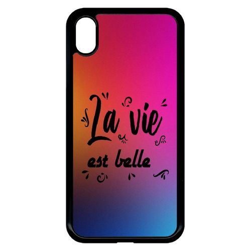 coque iphone xr color