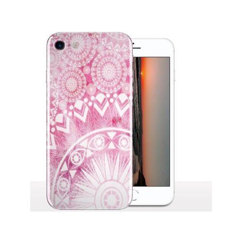 coque iphone 8 plume rose