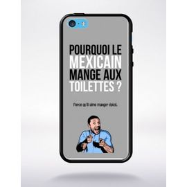 coque blague papa 19 compatible apple iphone 5c bord noir silicone 1147155631 ML