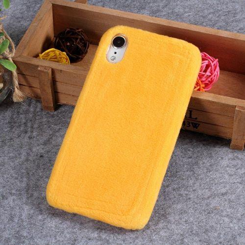 coque iphone xr apple original jaune