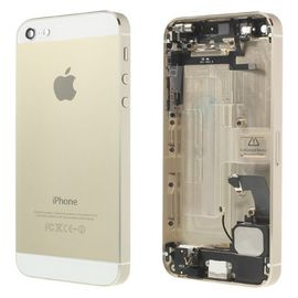 coque facade arriere chassis complet gold champagne pour iphone 5 bouton home style iphone 5s nappe home iphone 5 982217524 ML