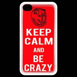coque iphone 4 iphone 4s keep calm be crazy rouge 964785267 ML