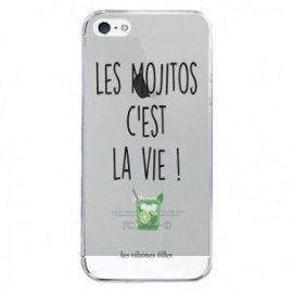 coque iphone 5 5s et se les mojitos c est la vie transparente les vilaines filles 1238064083 ML