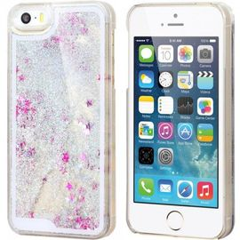 coque iphone 5 5s paillettes liquide gris 1040126219 ML