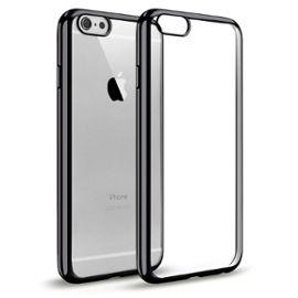 coque iphone 5 5s se welkoo coque iphone 5s en silicone housse iphone 5 en silicone couleur transparente contour noir brillant souple et flexible compatible avec l iphone 5 5s et se 1200693916 ML