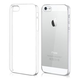 coque iphone 5 5s transparente rigide ultra fine brillante etui rigide transparent coque de protection arriere clipsable 1062549071 ML