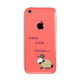 coque iphone 5c lapin dream fleur liberty 1217609899 ML