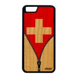 coque iphone 6 6s plus bois silicone drapeau suisse 128 go souple motif de apple iphone 6 plus iphone 6s plus 1152876013 ML