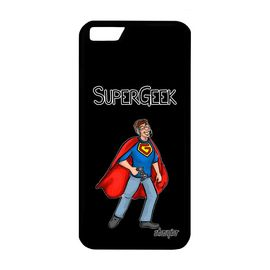 coque iphone 6 6s silicone super geek noir humour jeux video housse heros personnalise gamer de protection bd made in france apple 1355661337 ML