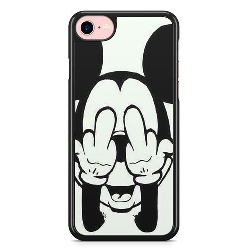 coque iphone 7 dessin noir