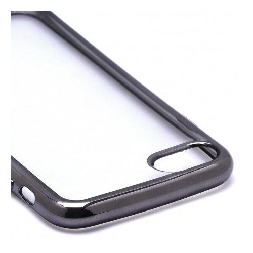 coque iphone 7 transparent bord noir
