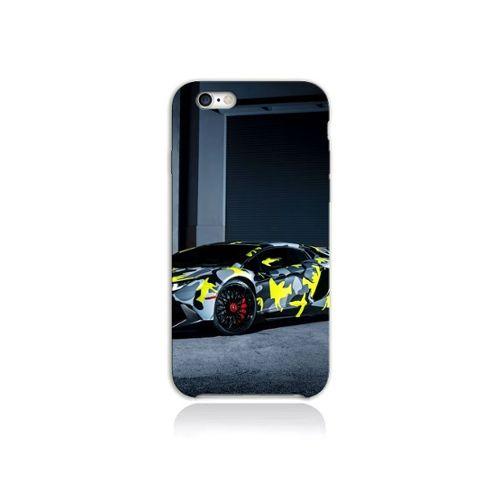 coque iphone 7 silicone lamborghini